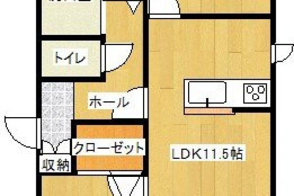 【賃貸】<新築> 豊岡市幸町 [ 2LDK/アパート ] グランメゾン幸03