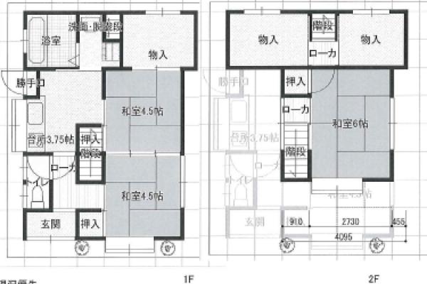 【賃貸】豊岡市弥栄町[ 4K+ロフト(2)/貸家 ]